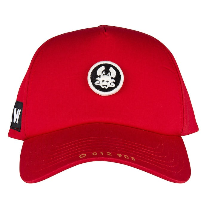 O CAP MASK SMALL RED ONCE WE WERE WARRIORS O3W