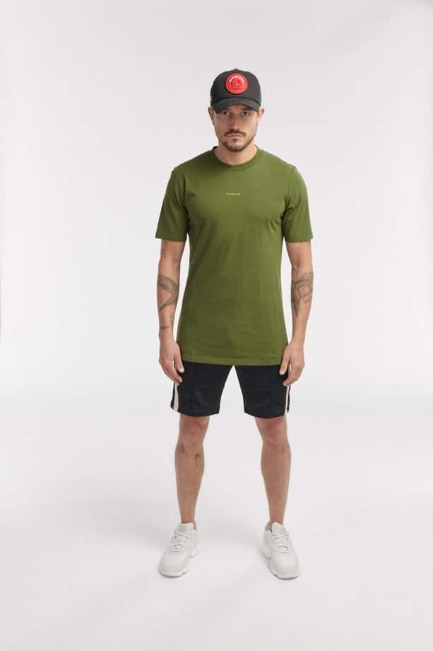 JUDO SS TEE ARMY GREEN O3W ONCE WE WERE WARRIORS