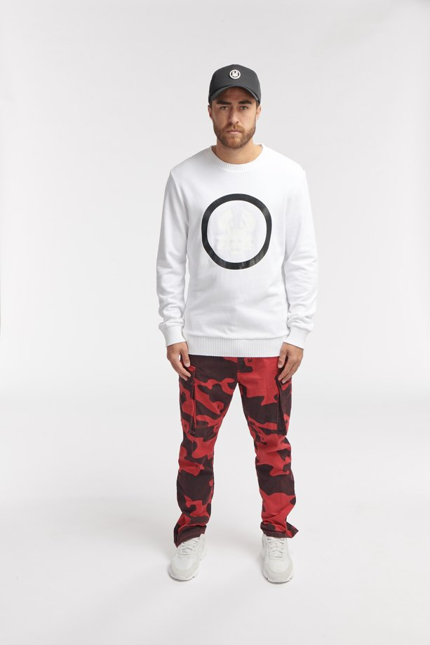 TOBI CREWNECK WHITE O3W ONCE WE WERE WARRIORS