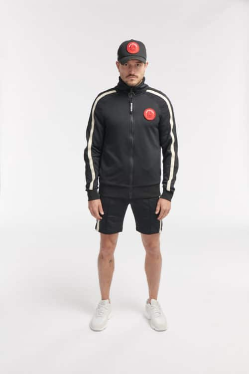 HIPO TRACK SHORTS BLACK O3W ONCE WE WERE WARRIORS