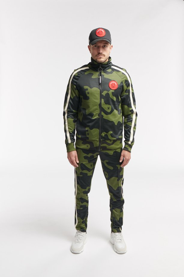 WESK2 TRACK PANTS CAMO ARMY O3W ONCE WE WERE WARRIORS