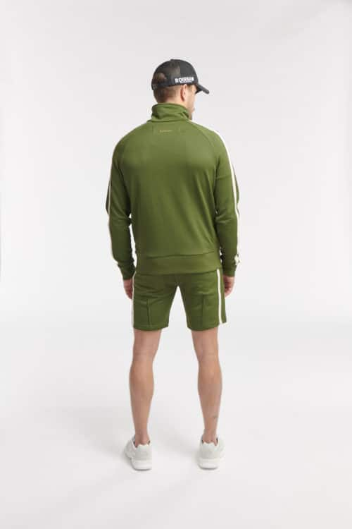 HIPO TRACK SHORTS ARMY GREEN O3W ONCE WE WERE WARRIORS