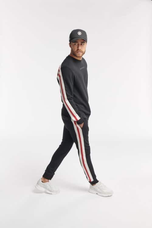 tono sweat jogger black o3w once we were warriors