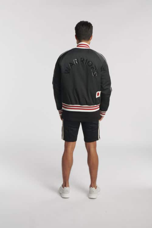 MAOKI BASKETBALL JACKET BLACK O3W ONCE WE WERE WARRIORS