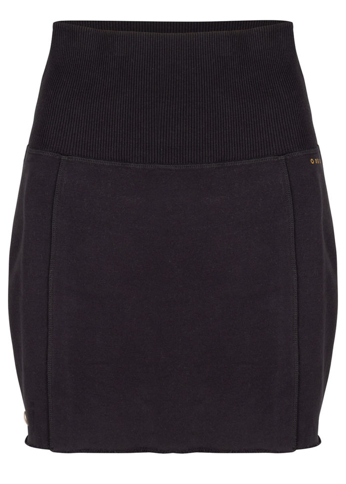 anzu sweat skirt black once we were warriors