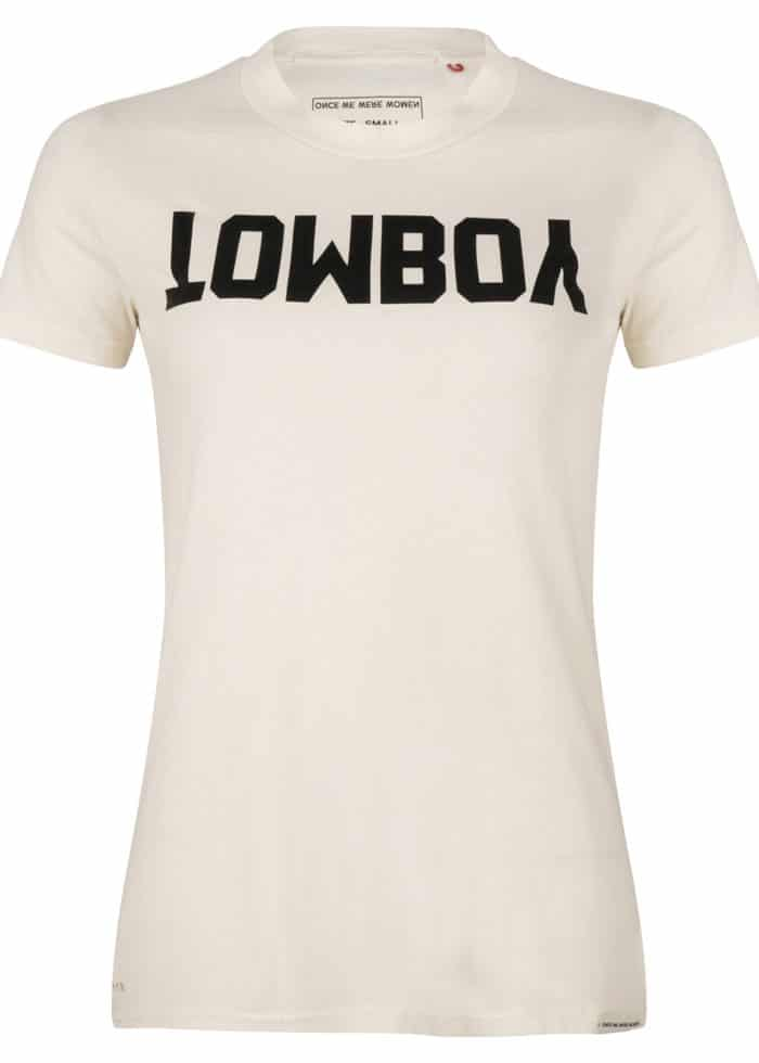 JUNKO SS TEE TOMBOY WHITE ONCE WE WERE WARRIORS TEE SHIRT