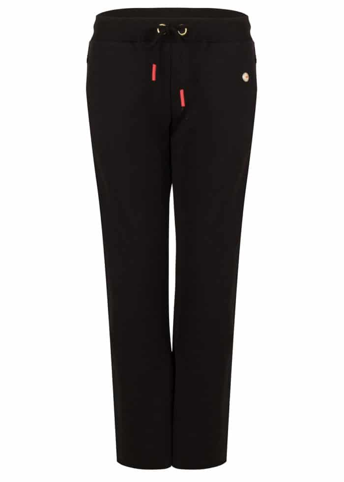 HANA FLARED JOGGER BLACK