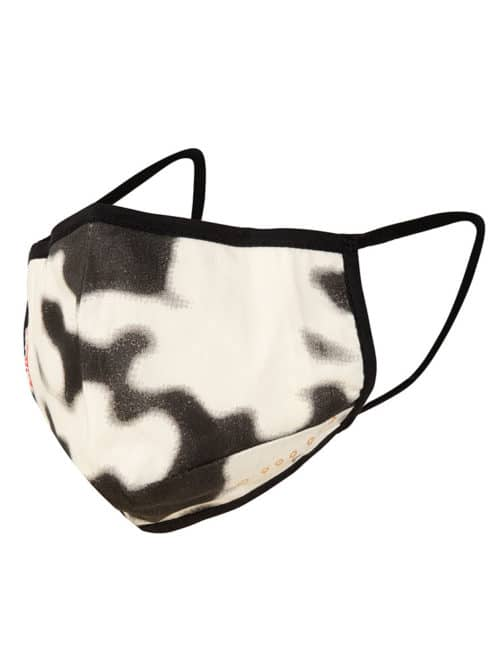 face cover mask camo antique white once we were warriors