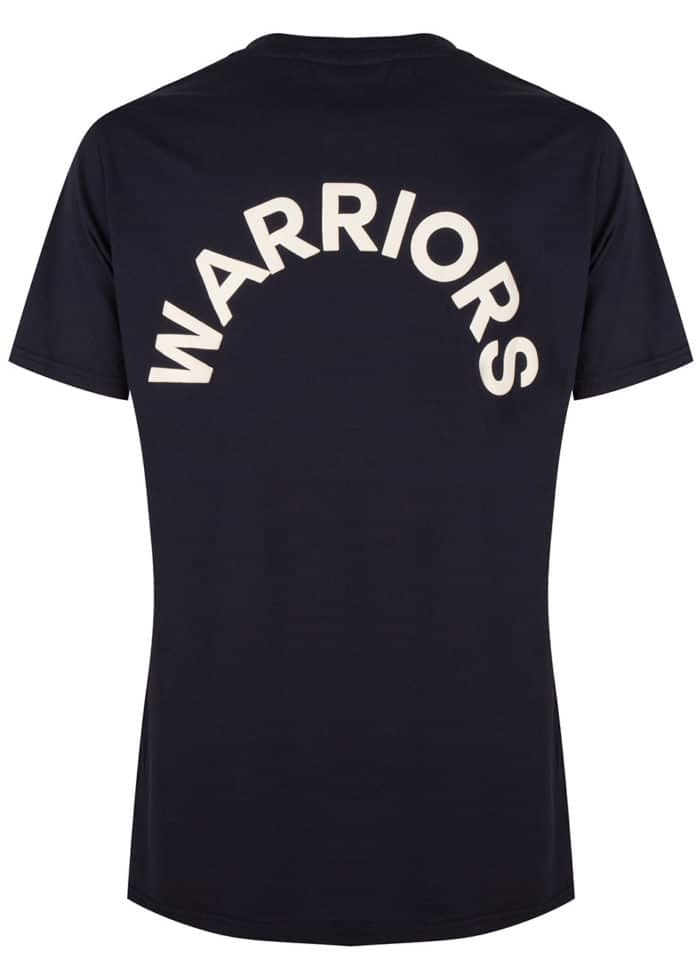 ARATA TEE T-SHIRT DARK INDIGO BLUE ONCE WE WERE WARRIORS