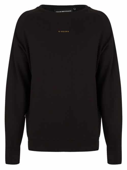 DANO SWEAT CREWNECK BLACK ONCE WE WERE WARRIORS