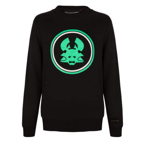 TOBI 2 CREWNECK BLACK ONCE WE WERE WARRIORS