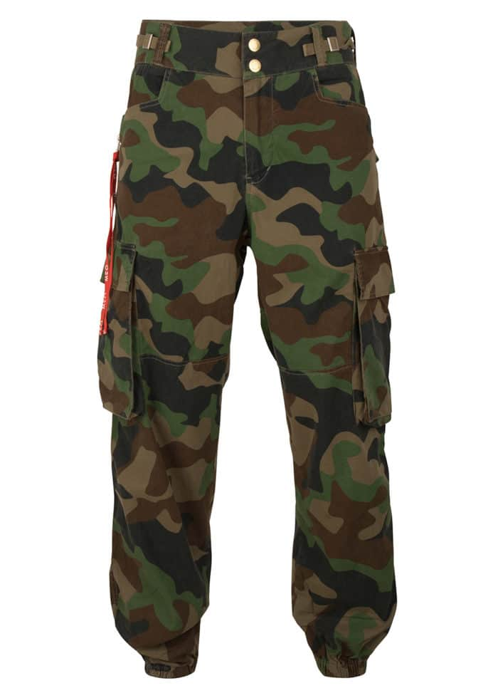 KIETO CAMO TROOPER PANTS CAMO ONCE WE WERE WARRIORS