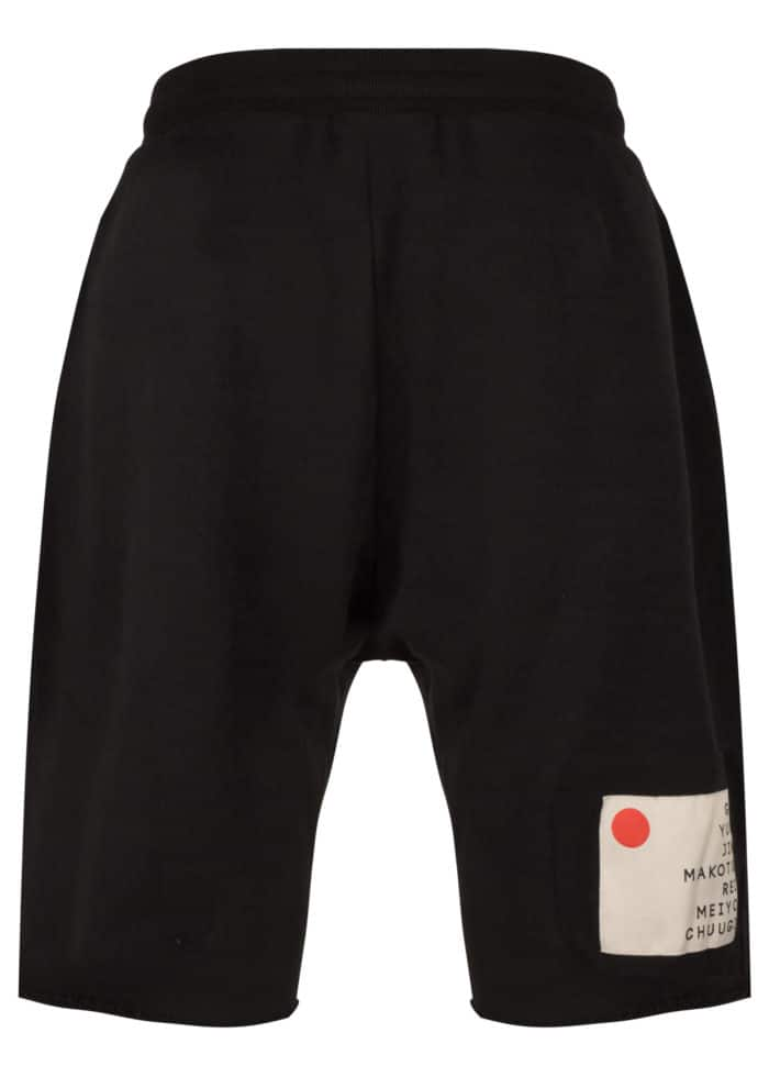 KOTO DROPPER SWEAT SHORTS BLACK ONCE WE WERE WARRIORS