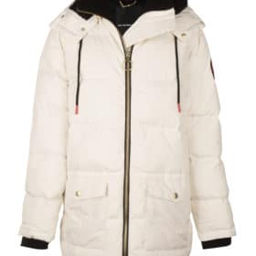 SAN PUFFER DOWN JACKET WHITE ONCE WE WERE WARRIORS