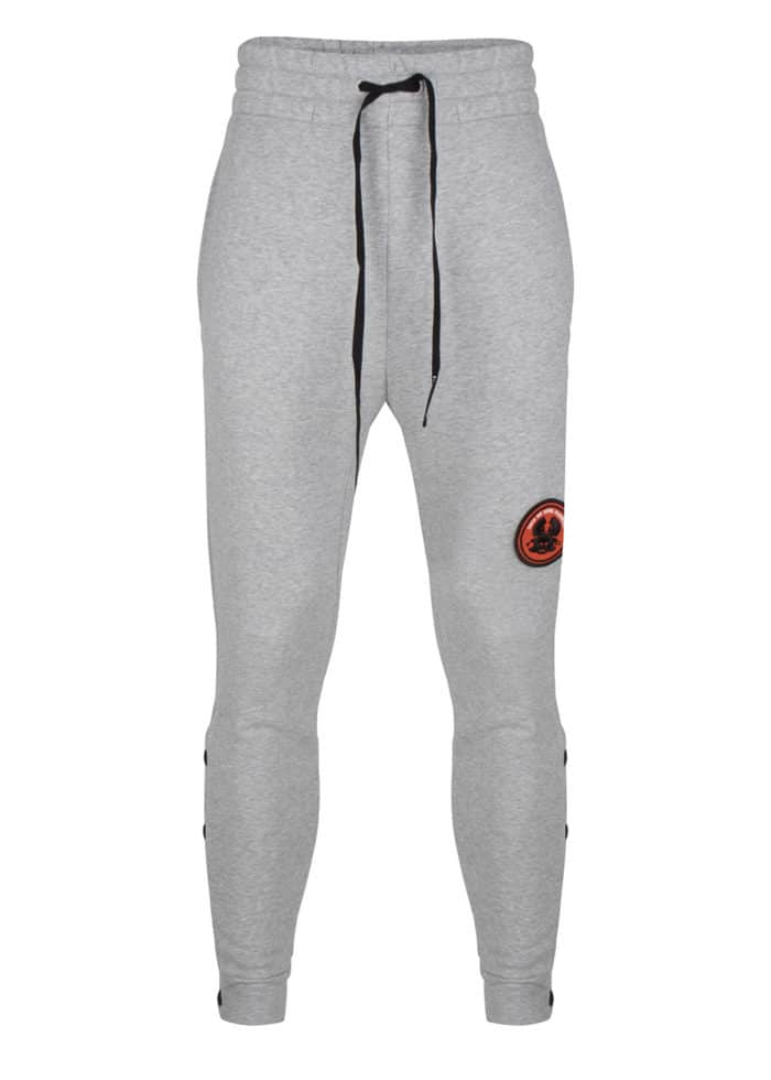 BRUCE JOGGER SWEATPANTS GREY MELANGE ONCE WE WERE WARRIORS