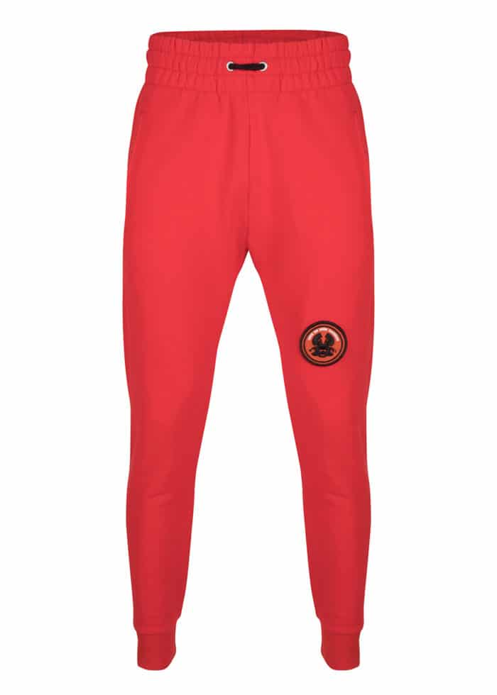 JAMA SWEAT JOGGER PANTS RED ONCE WE WERE WARRIORS