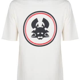 uchi ss tee antique white t-shirt once we were warriors