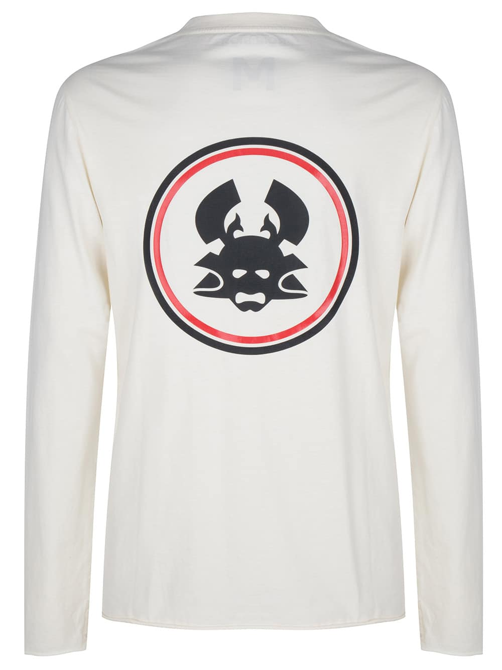 Yu long sleeve tee antique white once we were warriors