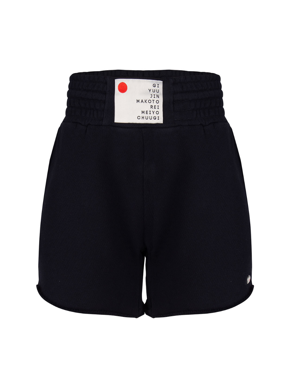 tshi kan fight shorts black once we were warriors O3W