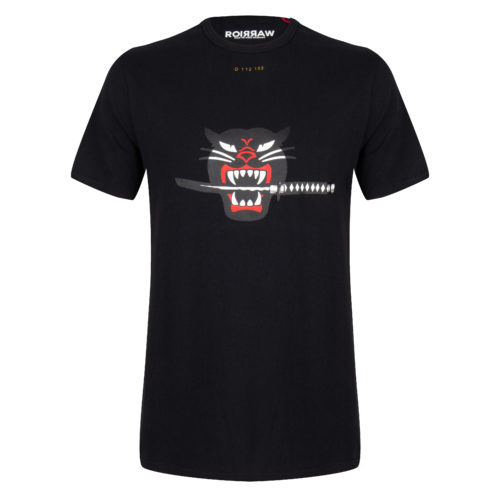 kimmi tee black once we were warriors