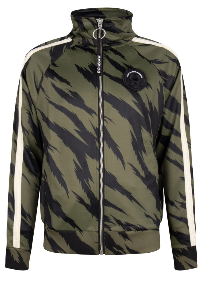 jado 2 track jacket trooper camo tiger once we were warriors O3W