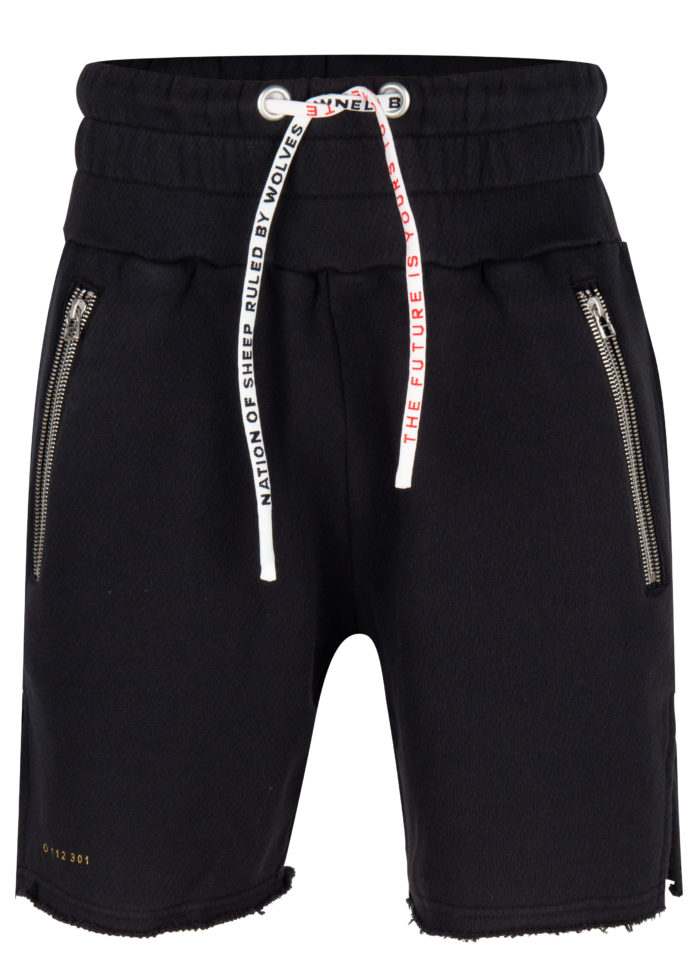 Ringo fight shorts black once we were warriors O3W