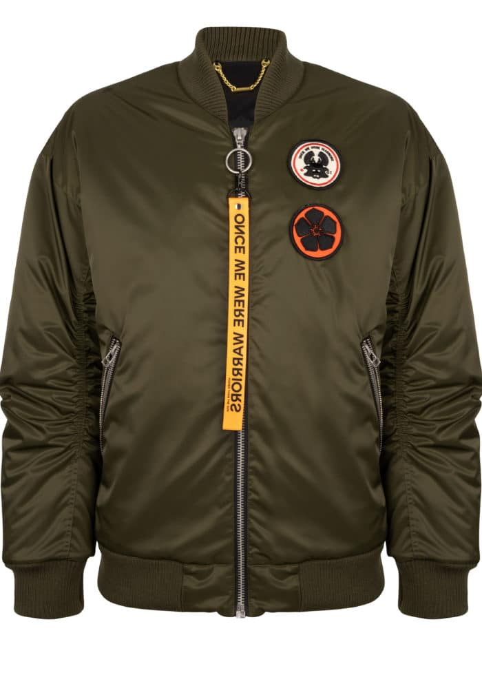 goku bomber jacket trooper once we were warriors O3W