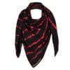 Gigi Middle East scarf goji berry red once we were warriors O3W