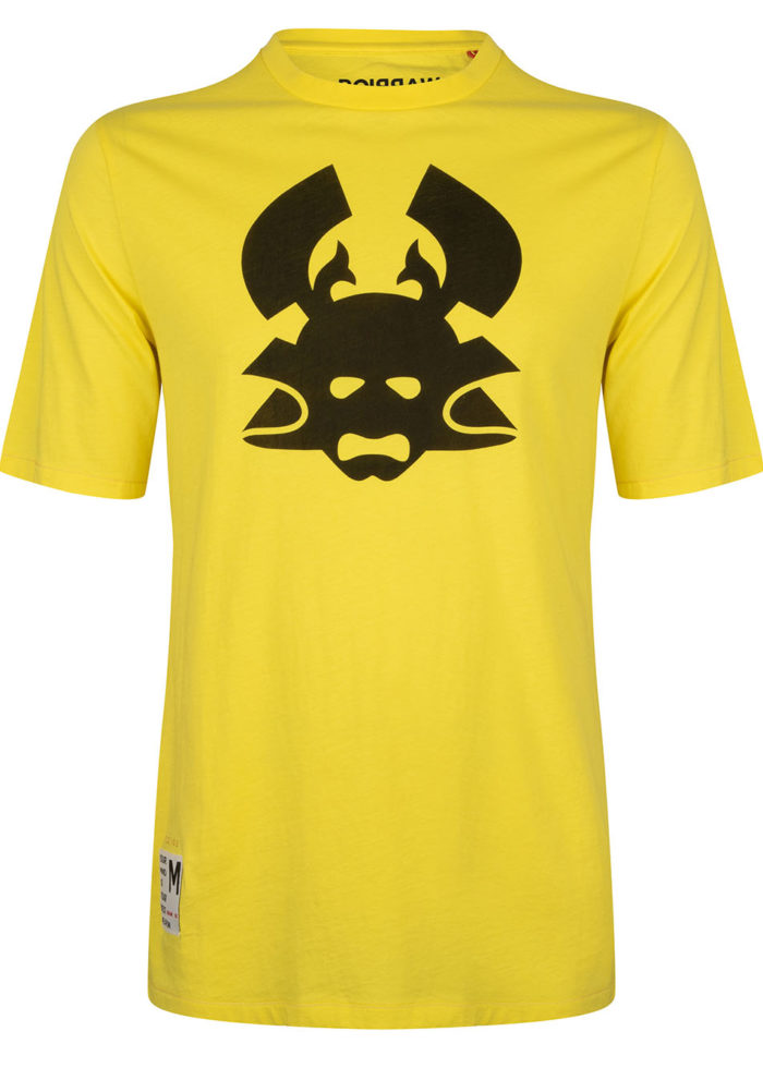 MENPO tee yellow once we were warriors O3W