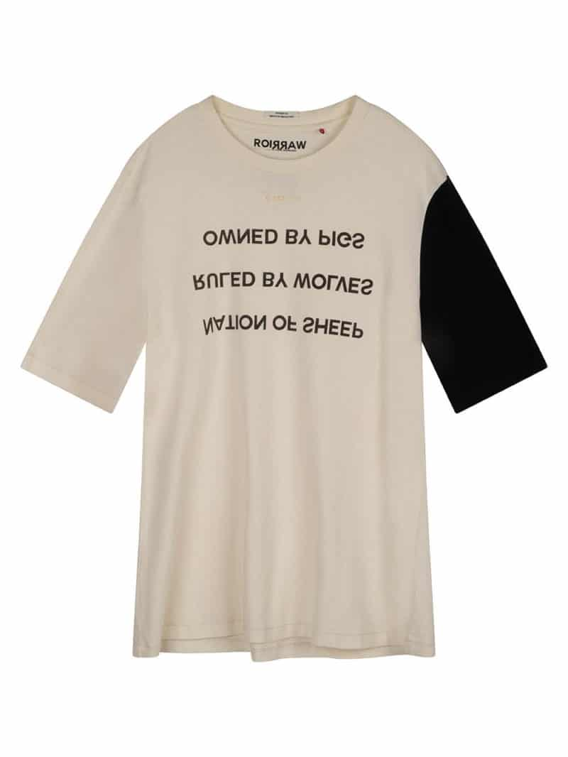 ISSUI TEE WHITE O3W ONCE WE WERE WARRIORS