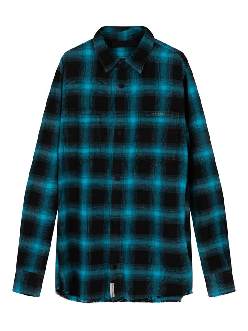 AITO CHECK SHIRT BLUE O3W ONCE WE WERE WARRIORS