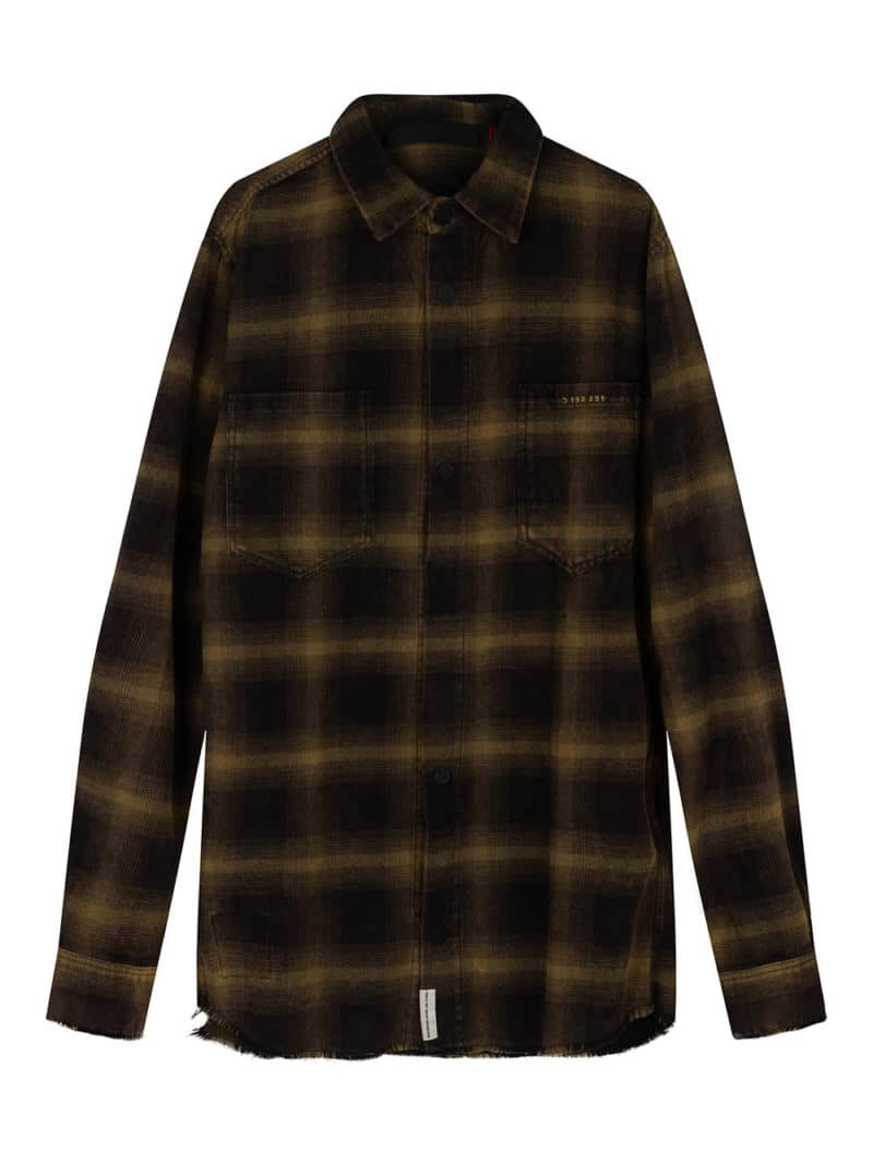 AITO CHECK SHIRT GREEN O3W ONCE WE WERE WARRIORS