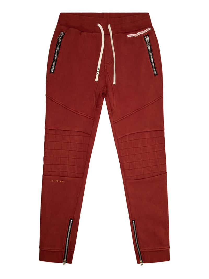 SHIO BIKER JOGGER RED O3W ONCE WE WERE WARRIORS