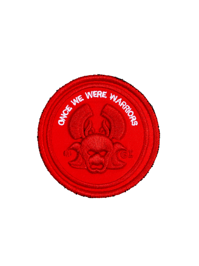 badge of honour red o3w Once We Were Warriors